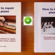 how to tune + how to repair a piano - 2 books -