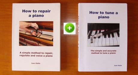 My eBooks to tune and repair pianos